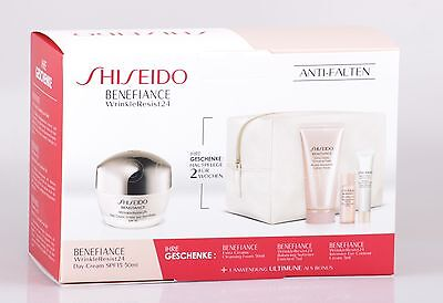 Shiseido - Benefiance WrinkleResist24 Day Cream Geschenk-Set I