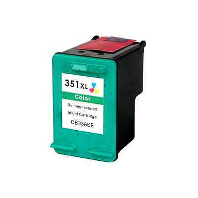 Tinta Para Hp 351 Xl Color Remanufacturada Compatible Maxima Capacidad