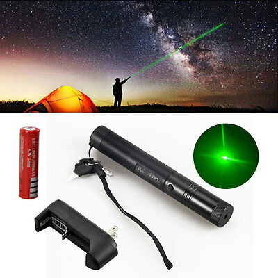 PENNA LASER ASTRONIMICO DA 1mW A LUCE VERDE PUNTATORE LASER POINTER LEGALE 18650