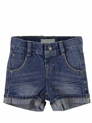 NAME IT tolle Jeans Shorts Bermuda Ross Alex blau Größe 80 bis 104