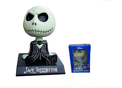 The Nightmare Before Christmas Jack Skellington Shaking Head Figure