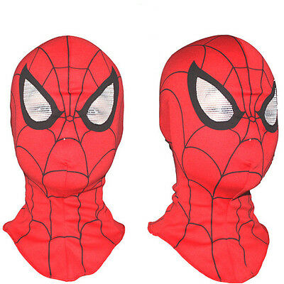 Fun Super Heroes Spider-Man Cosplay Mask Fancy Dress Costume Party Accessory Toy