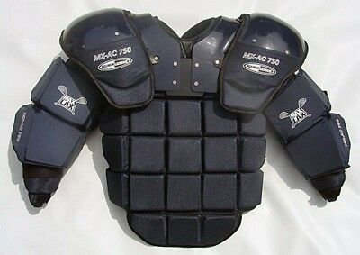 Maximum Lacrosse Box Goalie Uppers Chest Arms CAT 2 MX-AC-750 Box Indoor Arena