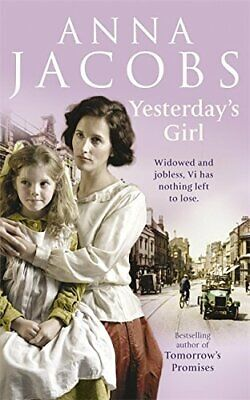 Yesterday's Girl by Jacobs, Anna Paperback Book The Cheap Fast Free Post