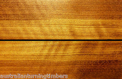 Very Rare Figured Australian Yellow Cedar Wood Knife Scales (Bookmatched)