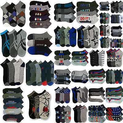 Mens Socks Lot Size 10-13 or 9-11 Assorted Random Mixed Color & Design Bulk Lots