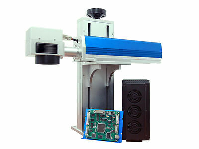 NEW 30Watt  Q-SWITCHED INDUSTRIAL FIBER LASER MARKING/ DEEP ENGRAVING SYSTEM