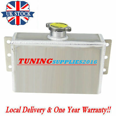 Aluminum Coolant Expansion Fill Tank Overflow Reservoir Universal