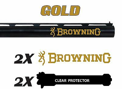 Browning Vinyl Decal Sticker For Shotgun / Rifle / Case / Gun Safe / Car