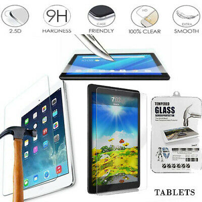 Genuine Tempered Glass Screen Protector For Samsung /Sony /Nexus Tablets UK