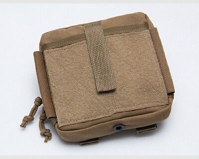 """MSM / TACTICAL TAILOR Organizer Pouch + TWO 5"""" Malice Clips / Marine Coyote"""