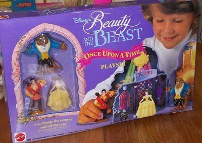 Disney Beauty and the Beast ONCE UPON A TIME PLAYSET