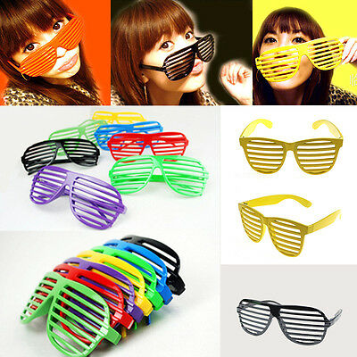 Slotted Frame Party Shades Adult Glasses Shutter Glasses Party Supplies