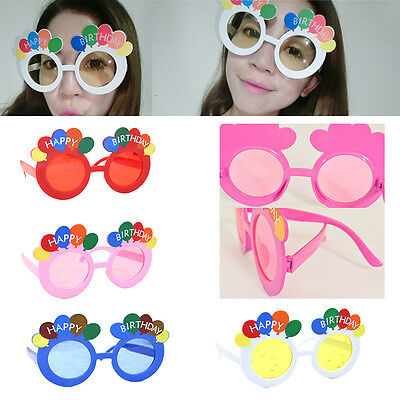 New Funny Party Glasses Happy Birthday Novel Sunglasses Theme Party Supplies
