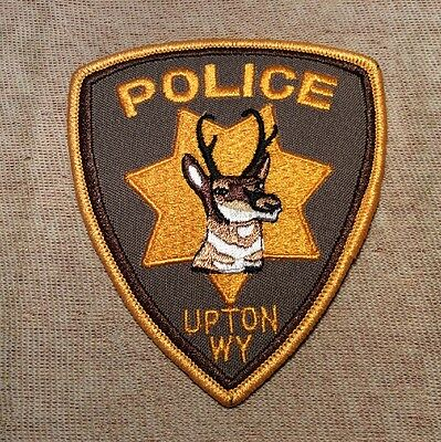 WY Upton Wyoming Police Patch