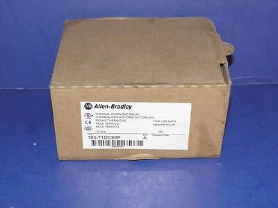 NEW IN BOX Allen Bradley 193-T1DC90P Thermal Overload Relay