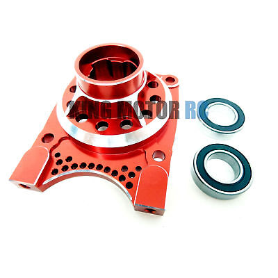 King Motor X2 CNC Aluminum Vented Clutch Housing (red) Fit LOSI 5IVE T Rovan LT