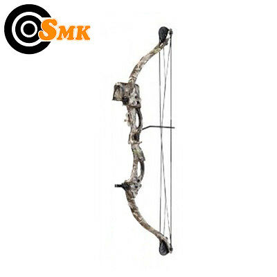 Junior Youths Adults Archery Camo Compound Bow 15-20lb Draw Draw Length 24-26""