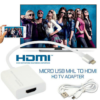 8 Pin Lightning To HDMI Cable HDTV AV Adapter For Apple iPad Mini iPhone 5s 6 6s