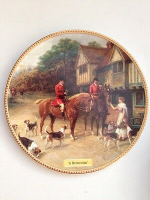 Royal Doulton 'A Refresher' In The Huntsman's Call Ltd Edition Decorative Plate