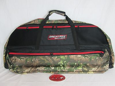 Greatree Deluxe Padded compound bow case soft black & Camo