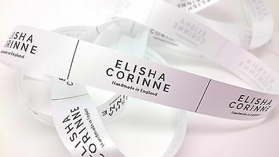 Personalised Clothing Garment Label Craft Sew In Handmade Business Professional