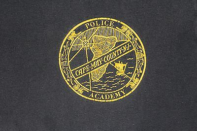 M Cape May County New Jersey Police Academy shirt