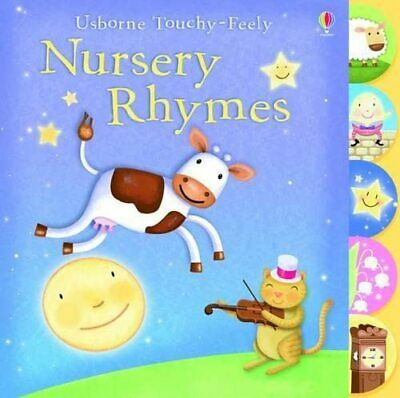 Touchy-feely Nursery Rhymes (Usborne Touchy Feely Books), Kerry Meyer Board book
