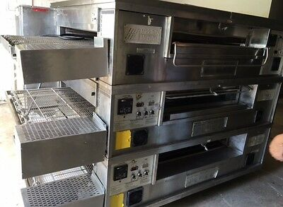 Middleby Marshall PS570 Triple Deck Conveyor Pizza Oven