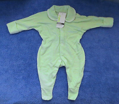 BONDS Baby Wondersuit Green/Blue/White/Pink/Grey  Sizes 000-1 BNWTs
