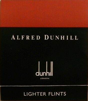 Dunhill Lighter Flints Rollagas Red New Wallet of 9 Genuine Quality - US Seller
