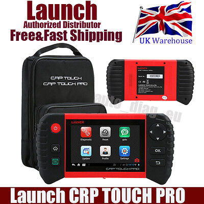 New Launch CRP TOUCH OBD2 Android Full System Live Data Diagnostic Scan Tool