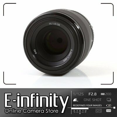 NUEVO Sony FE 50mm f/1.8 Lens for E-Mount SEL50F18F