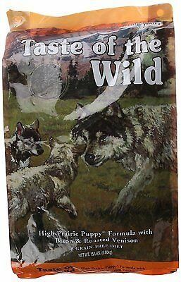 Taste of the Wild Grain-Free Dry DogFood for Puppy(Flavor Name High Prairie) DTF