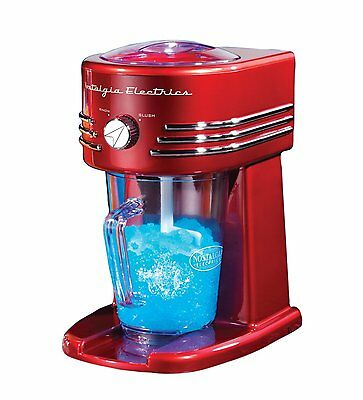 FBS400RETRORED Retro Series 40-Ounce Frozen Beverage by Nostalgia Electrics NEW