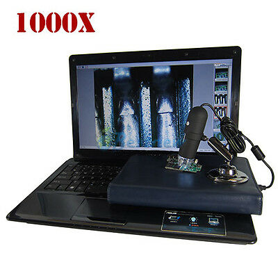 2MP 1000X 8 LED USB Digital Microscope Endoscope Zoom Camera PC Tablet Toplap NE