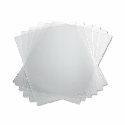 TruBind 10 Mil 8-1/2 x 11 Inches PVC Binding Covers - Pack of 100, Clear NEW
