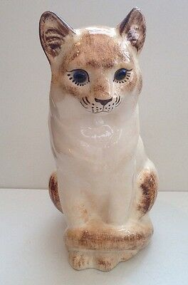 Vintage Welsh Pottery Cat