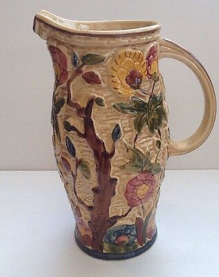Vintage Indian Tree Decorative Jug By H J Wood