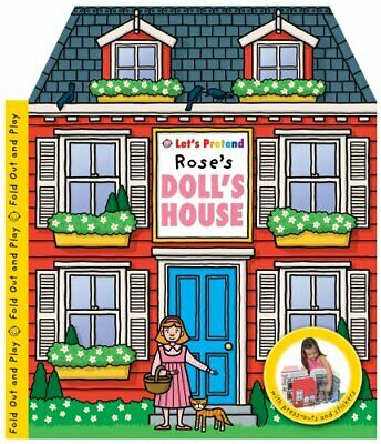 Let's Pretend Rose's Doll's House by Roger Priddy Spiral bound Book The Cheap