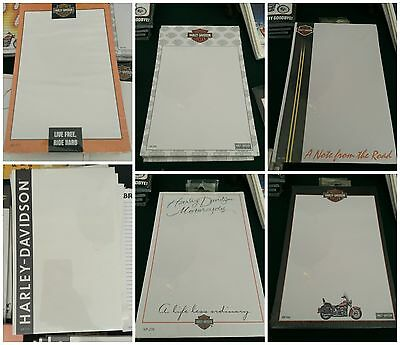 Harley Davidson notepads BRAND NEW SEALED retail $5.95 each 40+ pieces
