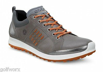 New Ecco Biom Hybrid 2 Gore Tex Golf Shoes Grey