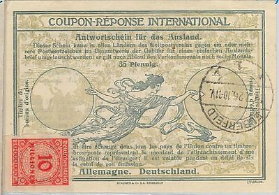 54323 - COUPON REPONSE - ROME  Model: GERMANY -   35 Pf  1926