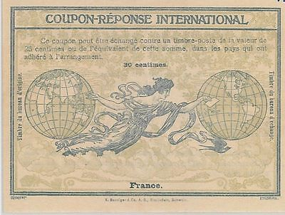 54326 - COUPON REPONSE -ROME  Model : FRANCE  - 30 Centimes