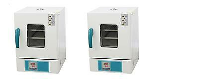 Desktop Digital Thermostatic Stainless Steel Drying Oven 10×10×10″ New