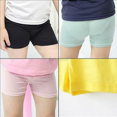 Toddler Kids Girl Friendly To Skin Short Pants Leggings Stretch Safety Shorts
