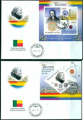Science Physic Chemistry John Dalton Benin set of first day covers