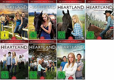 Heartland - Paradies für Pferde - Season/Staffel 1+2+3+4+5+6+7 * NEU OVP DVD Set