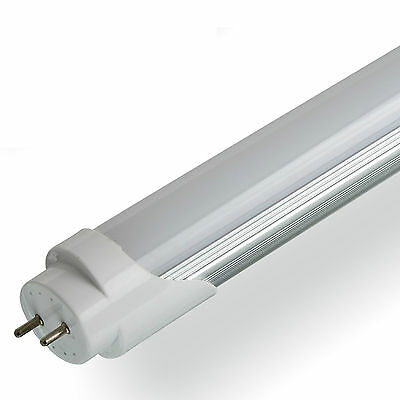 LED T8 Tube 2ft 4ft 5ft 6ft Retrofit Fluorescent Replacement Milky Cover White