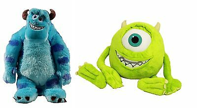 Pack 2 Peluches Monstruos Sa Sully 54 Cm Y Mike Wazowski 47 Cm